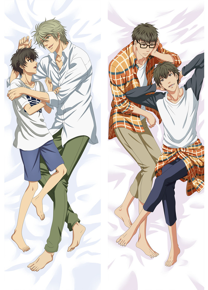 Super Lovers Japanese Anime Characters Cool Boy Kaidou Haru Ren Male Dakimakura Pillow Cover Hugging Body Throw Pillowcases