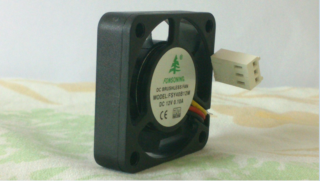 Купить с кэшбэком FONSONING FSY40S12H 4010 12V 0.12A with measured double ball bearing 40x40x10mm