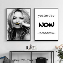 купить Black And White Beauty Poster Canvas Painting Wall Art Posters And Prints Wall Pictures For Living Room Decoration Home Unframed по цене 192.14 рублей