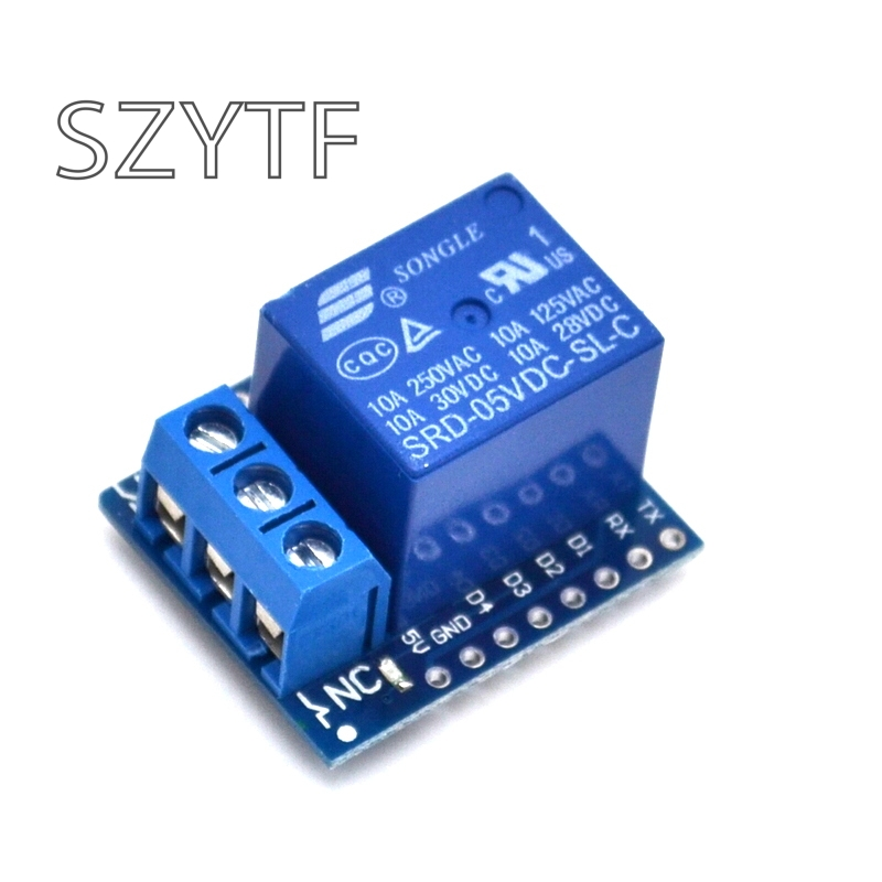 DC 5V 1CH Relay Shield V2 Version 2 For WEMOS D1 Mini ESP8266 WiFi Module HM