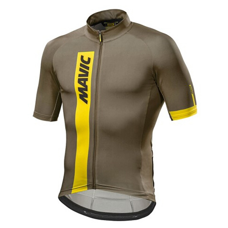 2018 MAVIC Cycling Jersey Tops Racing Cycling Clothing Ropa Ciclismo Short Sleeve mtb Bike Jersey Shirt