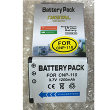 NP-110 CNP-110 Digital Camera Battery CNP110 lithium batteries pack NP110 For Casio EX-Z2000 Z2300 ZR10 ZR20 ZR15 Z2200