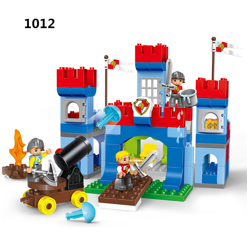 Large Particle Building Blocks Model 138Pcs Children Educational Bricks Toys For Baby Gifts Compatible With Legoingly Duplo ToyLarge Particle Building Blocks Model 138Pcs Children Educational Bricks Toys For Baby Gifts Compatible With Legoingly Duplo Toy
