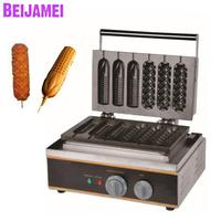 BEIJAMEI wholesale products French corn hot dog grill machine commercial electric lolly waffle corn maker machine