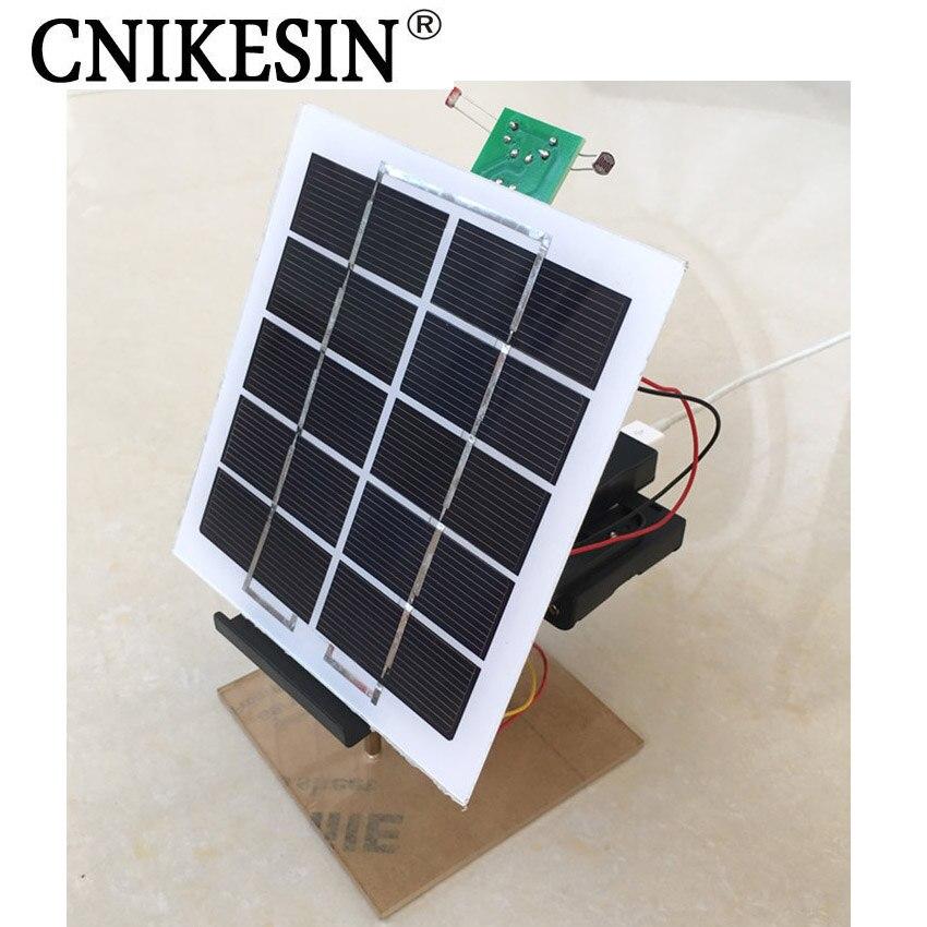 Cnikesin Diy Kits Solar Panel Generation Tracking
