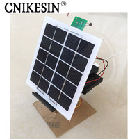 CNIKESIN DIY Kits Solar Panel Generation Tracking Controller Mobile Phone Charger Keep Track of the sun conti Electronic DIY Kit