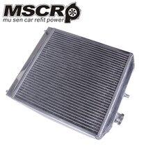 2 filas de 42 MM de aluminio auto radiador para Honda Civic Del Sol 92 00 MT, por ejemplo/EK