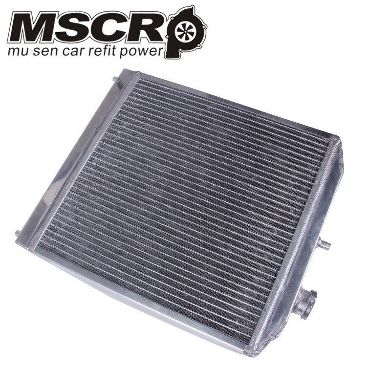 Radiateur automatique de voiture en aluminium de 2 rangées 42 MM pour Honda Civic Del Sol 92-00 MT EG/EK