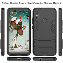Tablet Holder Case for Xiaomi Mi A2 Lite Mi A1 Max 2 3 Mix 2S Mi 8 Armor Case for Redmi 4A 6A 5 Plus 6 Pro S2 Note 4X 5A Prime(China)
