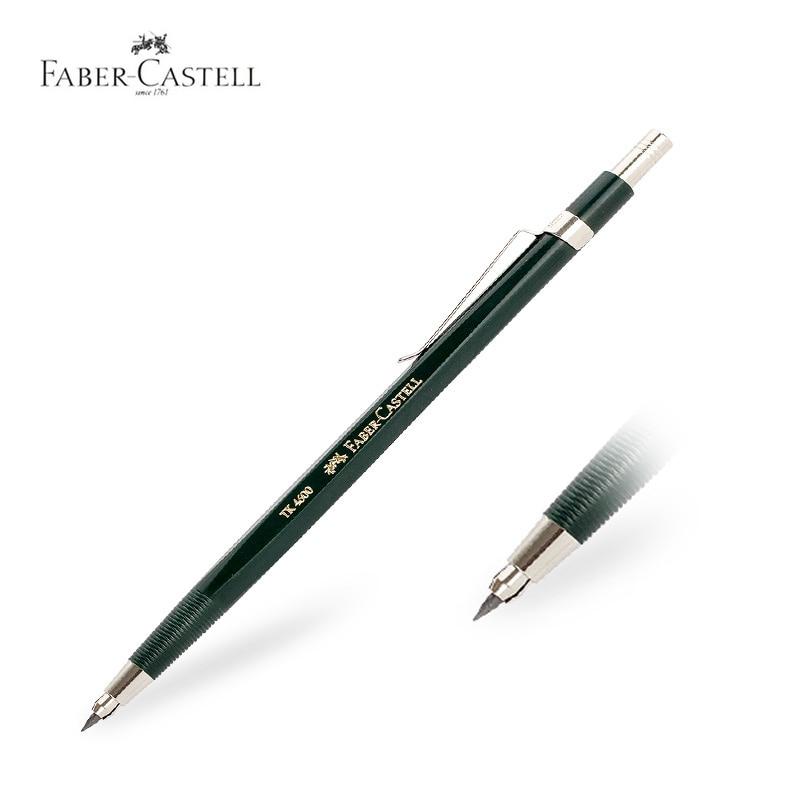 Faber-Castell Mechanical Pencil Portaminas de 2.0mm Drawing Works With Vulpotlood 2.0 mm Lapiseira Pentel Engineers Pens New faber castell 11 piece combination pencil pencil drawing pencil set 112972