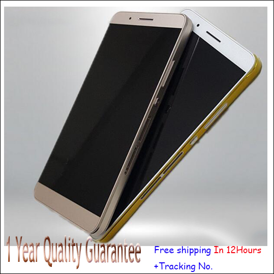 Test OK!White,Black or golden  LCD Display Touch Screen Digitizer Assembly For Huawei Honor 7i with frame free shipping original lcd screen display touch panel digitizer with frame for htc desire 300 free shipping test ok best quality