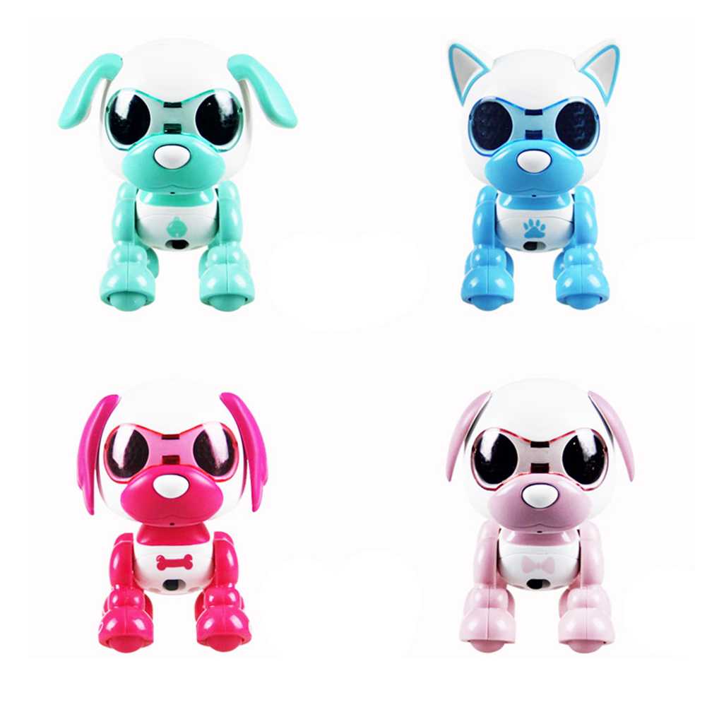 Smart Electric Dogs Kids Toys Interactive Walking Sound Puppy Robot Dog Light Pet Toy Child Electronic Music Learning Toys