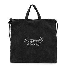 Embroidery Letter Zipper Women Corduroy Shoulder Shopping Bag Tote Crossbody Casual Handbag Top Handle Bags