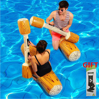 New Game Float Inflatable Pool Toys Swimming Bumper Toy For Adult Children Party Gladiator Raft Swimming Ring A Set Of Four