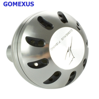 Gomexus Power Handle Knob For Shimano B Daiwa L Stradic FK 5000 Stradic FJ Blast 3500-5000 Catalina 4.5K-6.K Direct Fit 41mm
