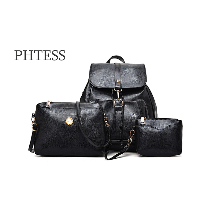 PHTESS New and Simple Style Backpack Shoulder Bag Mother Child Bags Travel Bags Large Capacity For