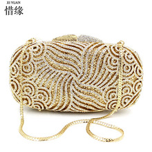 Evening Clutch With Chain Sling