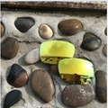 Новый 24 К Золотой цвет Замена Twoface Поляризованные Линзы для Oakley Два Лица Солнцезащитные Очки 100% UVA и UVB