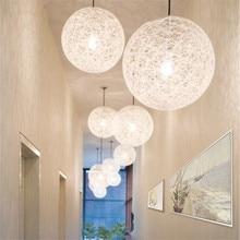 Nordic Loft Light Pendant Lamp Led Kitchen Hanging Mosaic Study Rattan Luminaire Singe Vintage Art Deco Cafe
