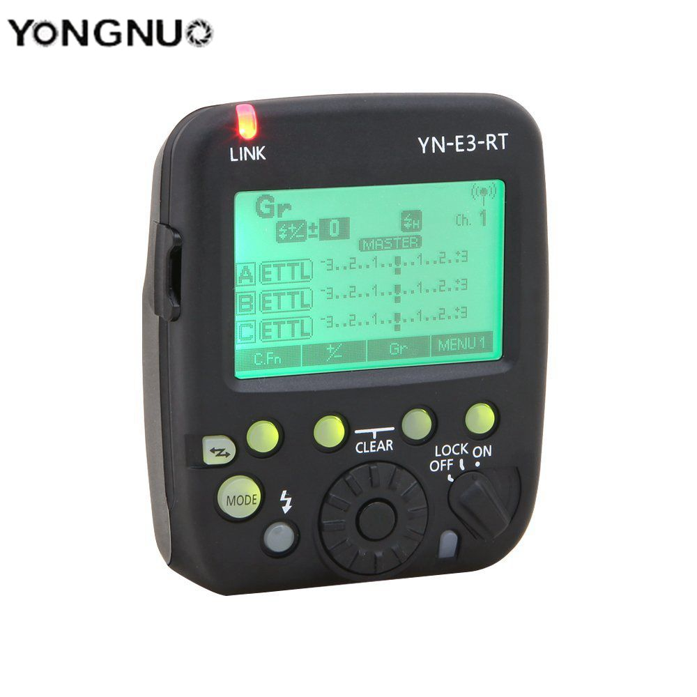 Yongnuo trigger flash trigger YN-E3-RT E3-RT E3RT TTL Flash Speedlite Wireless Transmitter for Canon 600EX-RT as ST-E3-RT 3pcs yongnuo yn600ex rt auto ttl hss flash speedlite yn e3 rt controller for canon 5d3 5d2 7d mark ii 6d 70d 60d