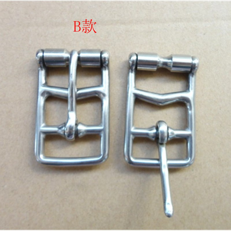 20PCS/Lot Stainless Steel Cinch Buckle  Horse Rug Fittings Leather Buckle W001 Saddlery Buckle