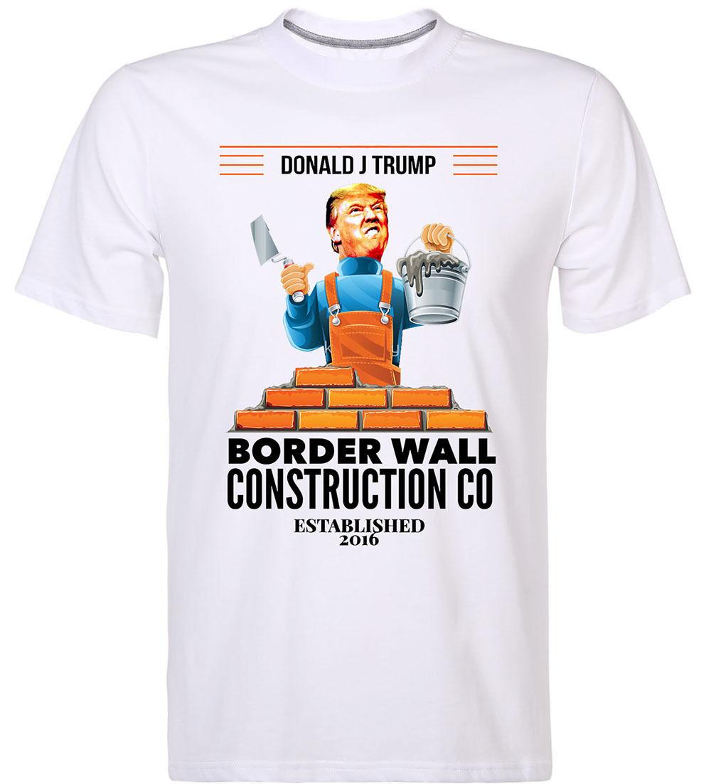 Donald Trump Wall Shirt Build A Wall Pro Donald Trump President