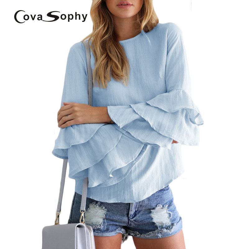 Covasophy 2017 New Fashion Women Tops Sus