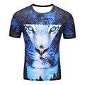 SYJON Space Galaxy T-shirt Men/Women Harajuku Hip hop Brand T-shirt 3d Print tiger Summer Tops Tees T shirt wholesale