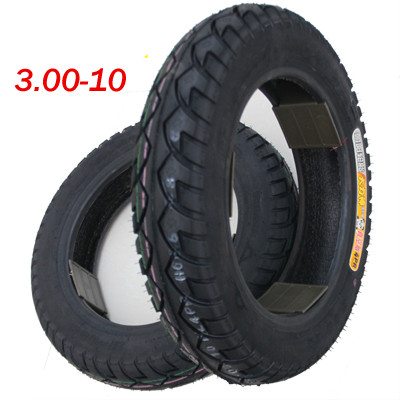 1pcs 3.00-10 electric bicycle tires Electric vehicle battery car electric motorcycle tire 3.00-10 special vacuum tire 72v 1800w zuma electric car battery car electric vehicles electric motorcycle top with add length tb330905