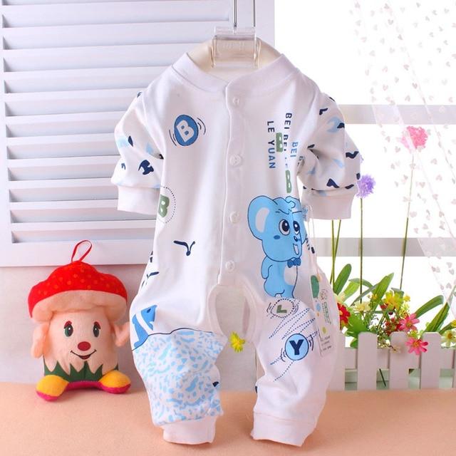 La primavera y el verano recién nacido ropa del bebé para niño y niña de manga