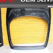 Углерода Волокно задний люк багажника с перерывом свет отверстие подходит для 1993-1998 toyota supra MKIV JZA80