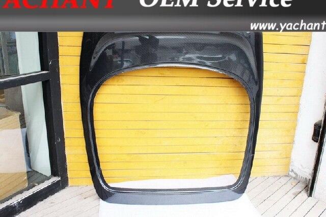 Углерода Волокно задний люк багажника с перерывом свет отверстие подходит для 1993 1998 toyota supra MKIV JZA80