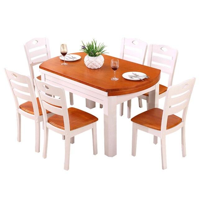 Redonda Langer A Manger Moderne Room Eettafel Tavolo Set Juego De ...