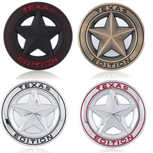 new Metal Car styling Shield Pentagram Emblem Badge Car Fender Side Tail Body Sticker For JEEP Wrangler Liberty Grand Cherokee