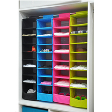MagiDeal 9 Section Hanging Storage Shelve Wardrobe Closet Organiser For  Coat Shirt Pants(China