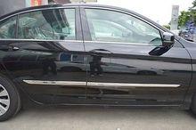 Chrome Body door Side Molding trim strip For Honda Accord Sedan 2013-2017 stainless steel body door side molding trim chrome for 2009 2013 dodge journey