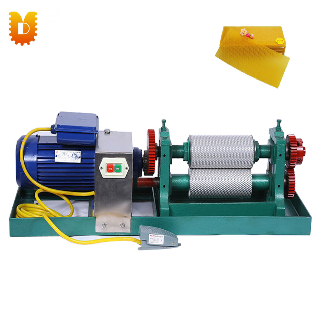 UDCCJ-195E Electric Beeswax Foundation Machine/Beeswax Foundation Roller electric motor beeswax comb foundation machine 86 250mm
