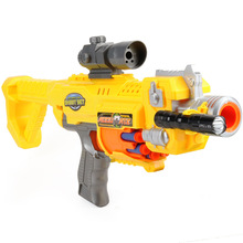 цена Electric Soft Bullet Gun Plastic Pistol Toy Gun Infrared Sniper Dart Blaster Shooting Outdoor Weapon Air Gun Best Gift for Kids в интернет-магазинах