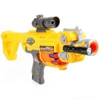 Electric Soft Bullet Gun Plastic Pistol Toy Gun Infrared Sniper Dart Blaster Shooting Outdoor Weapon Air Gun Best Gift for Kids