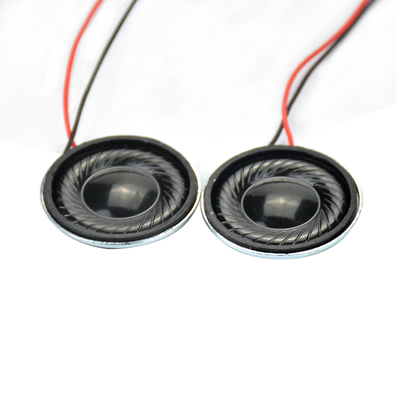 2Pcs Portable Mini Tweeter Audio Speakers Woofer Iron Shell Magnetic font b Trump b font 8