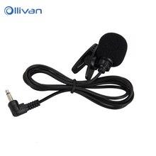 Mini 3.5mm Studio Microphone With Tie Lapel Lavalier Clip