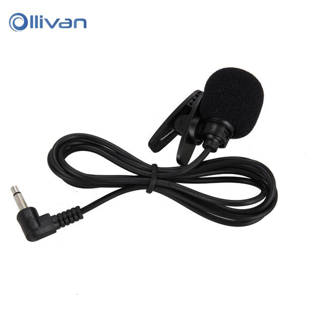 With Tie Lapel Lavalier Clip Mic For Computer Teaching Speech Microphones Mini microphone Headphones 3.5mm Studio microphone