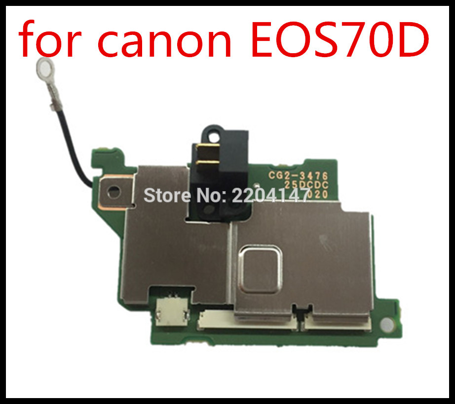 100% ny Original 70D Drive Board PCB til Canon 70D Power Board 70D power board ASS'Y DC / DC reparationPart kamera gratis forsendelse