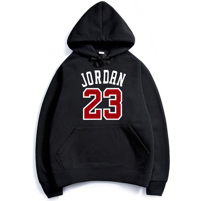 Spring Winter New Jordan Sweatshirts Number 23 Hoodies Long Sleeve Cotton O-Neck Fashion Fleece Jordan Hoodies Sweatshirts