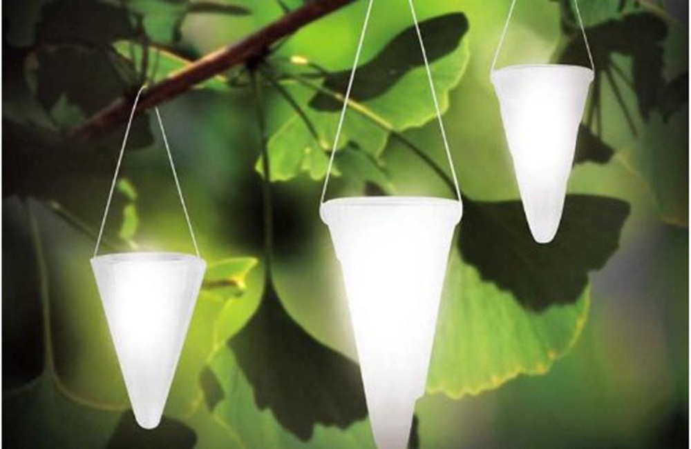 ... The New Solar LED Lights Hanging Lights Taper Balcony Garden Outdoor  Decorative Chandelier Decorative Lights For ...