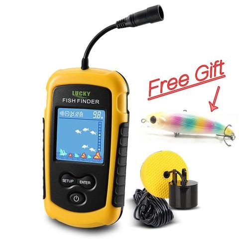 inventor dos peixes para pesca fish finder sonar ecobatimetro ffc1108 1 venda quente alarme 100