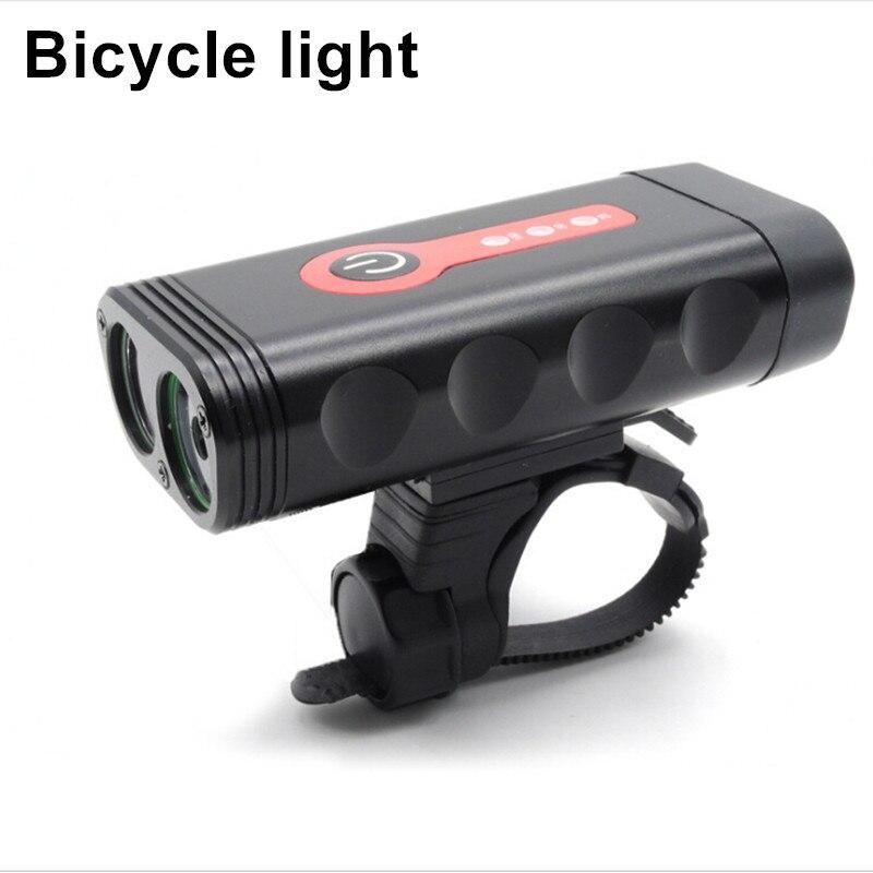 S2848 A Mené La Lumière De Bicyclette Rechargeable USB XTG-3 torche Led Poche 800 Lumen Lampe De Vélo Rotation Portable Lanterna Avec batterie