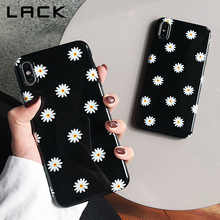 LACK Retro Daisy Flowers Phone Cases For iphone 11 11Pro Max XS Max X