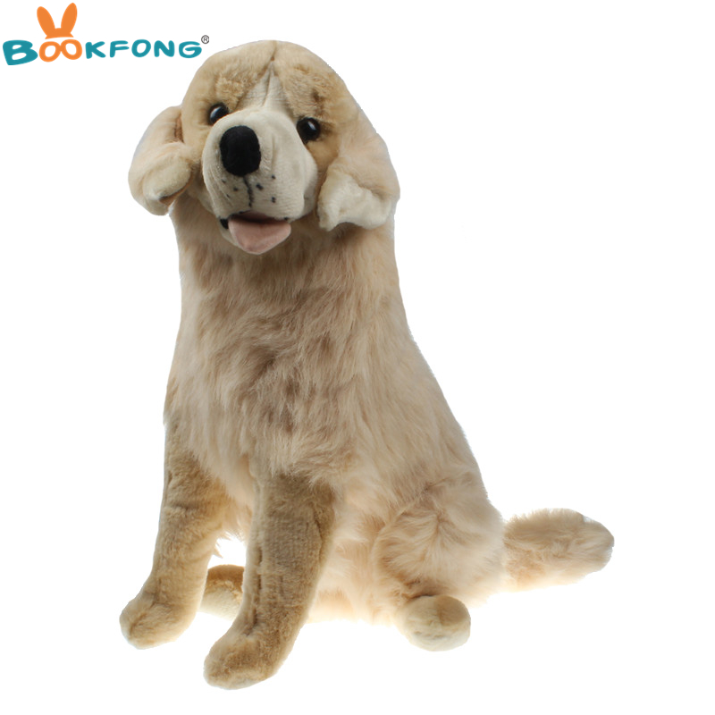 Bookfong 55cm Emulational Golden Retriever Plush Toy Lifelike