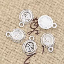 Здесь можно купить  30pcs Charms dog bone 15*10mm Free Shipping Antique pendant fit,Vintage Tibetan Silver,DIY for bracelet necklace